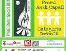 Dissabte es farà el lliurament de la 19a edició del Premi Literari Solstici