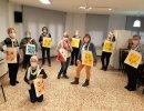 L'Associació de Jubilats celebra el Dia de la Gent Gran en un local renovat