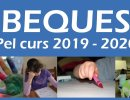 Es convoca el període per demanar beques per a l'escolarització i activitats extraescolars del curs 2019-2020