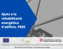 La Generalitat de Catalunya obre ajuts per a la rehabilitació energètica d'edificis