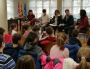 Els alumnes de Les Pinediques i la declaració d'emergència climàtica