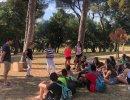 24 joves participen al camp de treball per reivindicar el món rural