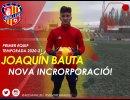 Joaquín Bauta s'incorpora al primer equip de l'AEC Manlleu