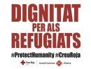 Campanya conjunta de Creu Roja i el Consell Comarcal d'ajuda a les persones refugiades