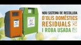 Nou sistema de recollida d'oli vegetal amb contenidors al carrer