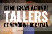Inscripcions obertes als Tallers de Gent Gran Activa