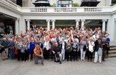 La gent gran celebra el seu dia a Manresa