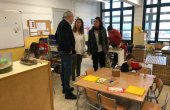 El conseller Bargalló s'interessa pel projecte educatiu de Les Pinediques