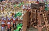 FOTOS. Presència taradellenca a la fira sobre Playmobil a Vic