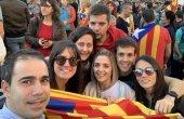 FOTOS. Centenars de taradellencs a la manifestació 'Llibertat'