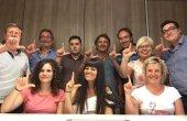 L'equip de govern dóna suport als afectats per l'ELA