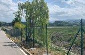 ADIF instal·la una tanca de seguretat a l'entorn de la via a Mont-rodon
