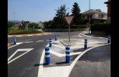 Es millora la seguretat de la Rotonda de la T i la circulació del carrer de l'Era del Tint
