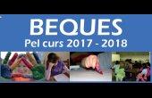 Obertes les beques per a l'escolarització i activitats extraescolars del curs 2017-2018.