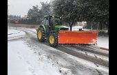 Informació davant la nevada que s'està produint a Taradell aquest dimecres