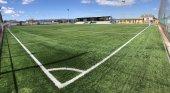 Ja han finalitzat les obres del Camp de Futbol La Roureda