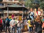 Fotos. Unes 200 persones a la columna de Taradell de la Marxa dels Vigatans