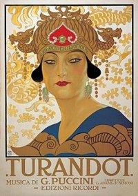 Turandot poster antic