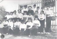 Grup de caramellaires dirigits per Mn. Ramon Vidal. AFT| Família Rossell Martí