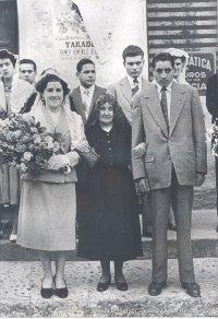Concepció Blasi i Puig amb Neus Autonell i Antoni Estrada