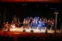 Actuació de Tastet de Gospel l'1 de gener de 2018 a l'escenari del Centre Cultural Costa i Font de Taradell. AFT|Laia Miralpeix