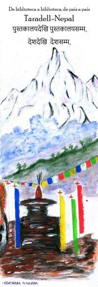Punt de llibre Taradell-Nepal