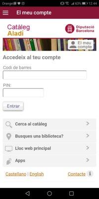 APP BibliotequesXBM