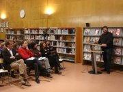 2013. Presentació del projecte. De biblioteca a biblioteca de país a país 2013. Taradell-Azambuja (Portugal)