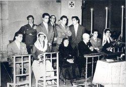 Exposició fotogràfica sobre el primer homenatge a la Vellesa a Taradell