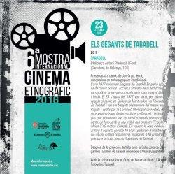 La Mostra Internacional de Cinema Etnogràfic arriba a la Biblioteca de Taradell