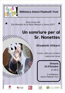 Elisabeth Ulibarri a l'Hora del Conte dedicada a la Salut Mental