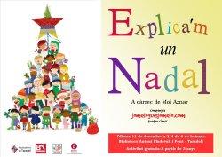 'Explica'm un Nadal' a l'Hora del conte del mes de desembre