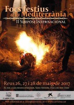 El Grup de Recerca participarà al II Simposi Internacional 'Focs Festius a la Mediterrània' a Reus