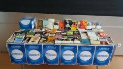 Venda solidària de llibres a la Biblioteca per La Marató de TV3