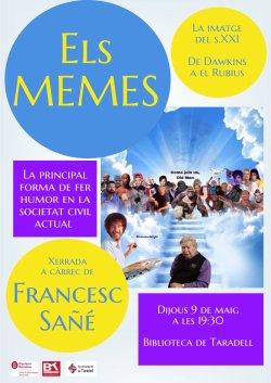 Francesc Sañé parlarà sobre els memes a la Biblioteca