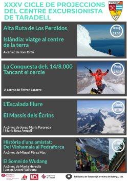 35a edició del Cicle de Projeccions del Centre Excursionista de Taradell