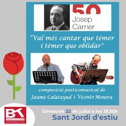Composició poèticomusical amb textos de Josep Carner