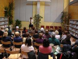Taradell commemora el 25N amb un monòleg de Pepa Lavilla