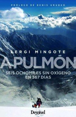 Sergi Mingote presenta a Taradell el seu llibre 'A pulmón, seis ochomiles sin oxígeno en 367 días'