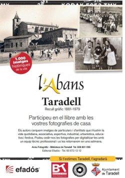 Crida per recollir fotos antigues de Taradell per la col·lecció fotogràfica L'Abans