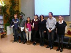 Quatre alumnes de l'INS Taradell presenten els seus treballs de recerca