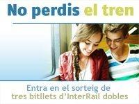 Viatja en tren per Europa amb la Biblioteca