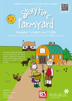 Hora del conte en anglès: 'Farmyard' amb Kids&Us