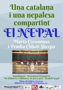 De Biblioteca a Biblioteca de País a País. Aquest 2019, Taradell-Nepal