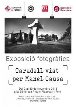 Exposició: 'Taradell vist per Manel Gausa'
