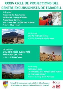 Torna el Cicle de Projeccions del Centre Excursionista de Taradell