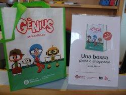 Aquest Nadal regala les bosses Gènius de la Biblioteca