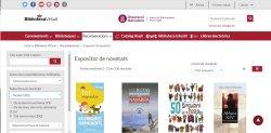 Consulta les darreres novetats de la Biblioteca a l'exposició virtual