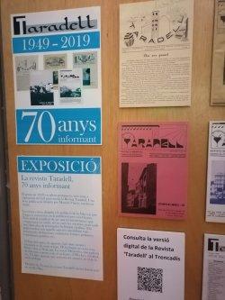 Exposició: 'Taradell. 70 anys informant' a la Biblioteca