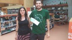 Una usuària de la biblioteca guanya bitllets d'InterRail de la campanya No perdis el tren